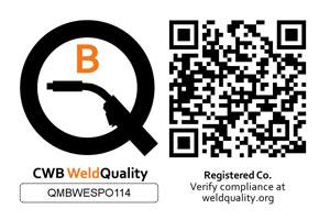 CWB Weld Quality Logo