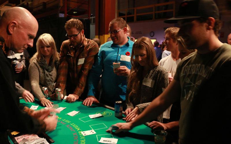 Westpower Annual Pig Roast fun casino 2 - Calgary Alberta